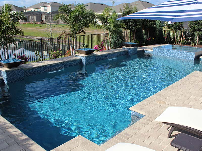 Stonescapes Pool Finish in Orlando, Florida